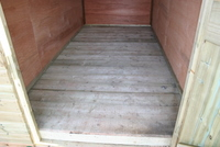 Fully treated Tack Room Floor