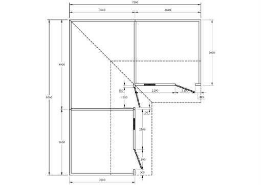 AutoCad Brickwork Plan